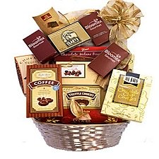 Chocolate Lovers Gift Basket delivery to Canada
