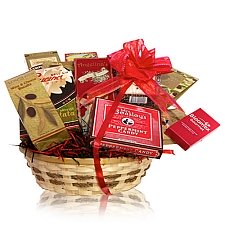Deluxe Snack Gift Basket delivery to Canada