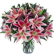 Spirited Lilies delivery to Canada