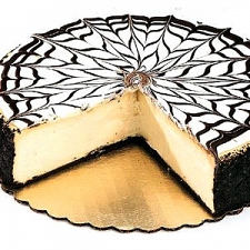 3Lbs White Chocolate Cheesecake delivery to Denmark