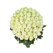 White Roses Basket 100 Flowers delivery to India