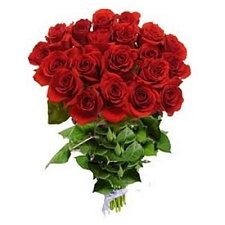 24 Red Roses Bouquet delivery to India