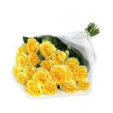 Yellow Roses Bouquet 24 Flowers delivery to India