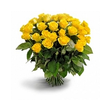 Yellow Roses Bouquet 36 Flowers delivery to India