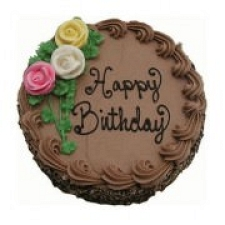 1 Kg Happy Birthday Chocolate Cake delivery to India