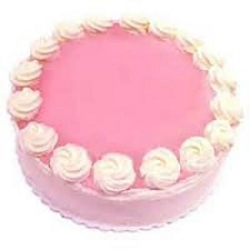 1 Kg Eggless Strawberry Cake delivery to India