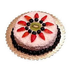 2 Kg Eggless Strawberry Cake delivery to India