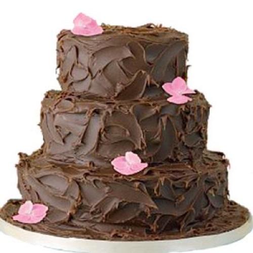 4kg 3 Tier Chocolate Cake