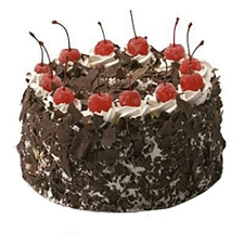 500 Gm Eggless Black Forest Cake delivery to India