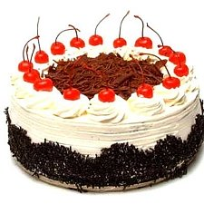 1 Kg Eggless Black Forest Cake delivery to India
