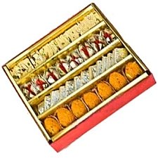 1 Kg Assorted Sweets delivery to India