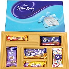 Cadbury Celebrations Gift Pack - Big delivery to India