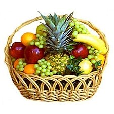 5kg Fresh Fruits Basket delivery to India