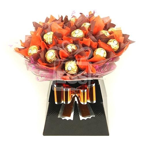 24 Ferrero Rocher Bouquet