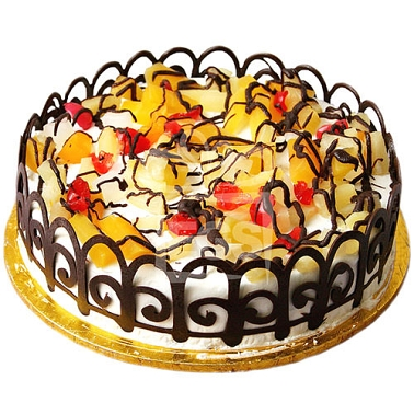 2lbs Fruit Cocktail Cake From Tehzeeb Bakers Gift Delivery