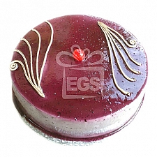 2lbs Blue Berry Fresh Cream Cake From Pearl Continental Hotel delivery to Pakistan