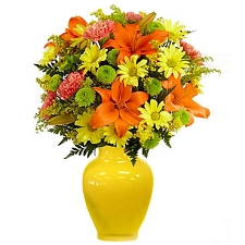 Keep Smiling Mixed Bouquet Delivery to UAE