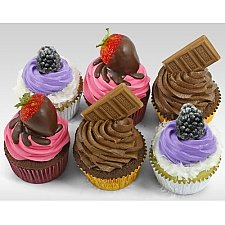 6 Assorted Celebration Cupcakes delivery to UAE