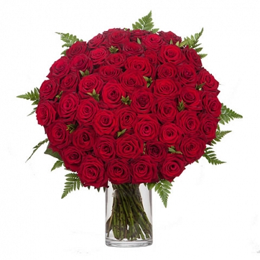 100 Red Rose Bouquet delivery UK