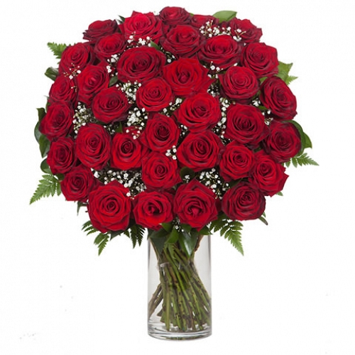36 Red RosesBouquet delivery UK