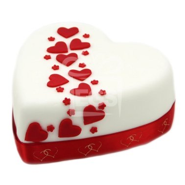 Hearts and Stars Cake delivery UK