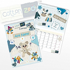Cotton Zoo Boys Calendar Delivery to UK