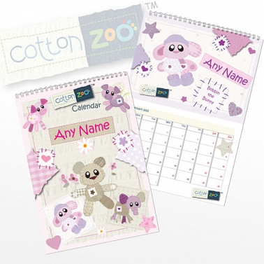 Cotton Zoo Girls Calendar Delivery to UK