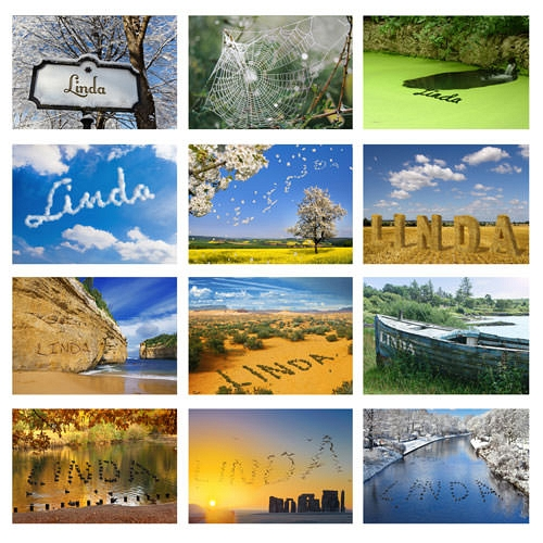 Great Outdoors Calendar Delivery to UK