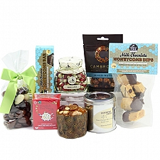 Sweet Indulgence for him Hamper delivery UK