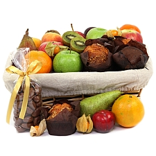 Fruit And Muffins Hampers Delivery to UK