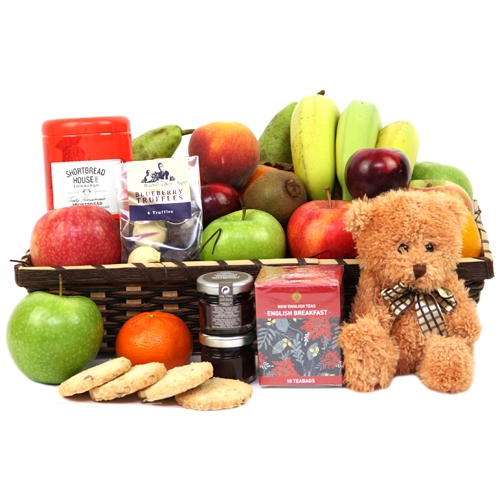 Birthday Fruit Hamper Delivery to UK