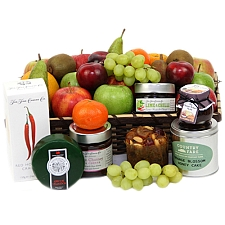 Fruitalicious Cheese Hamper Delivery to UK