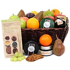 Fruit and Cheese Toast Hamper