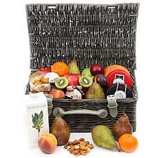 Gourmet Cheese & Fruit Hamper Delivery to UK