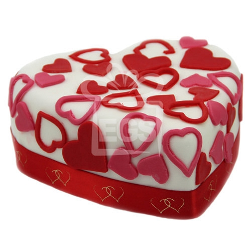 Love Tweet Heart Cake delivery UK