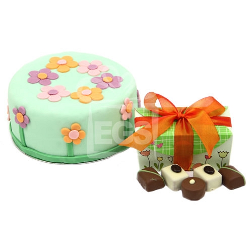 Springtime Birthday Treat delivery UK