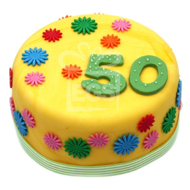 Buttercup Birthday cake Cakes Delivery UK ExpressGiftService