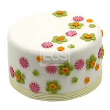 Flower duet Cake delivery UK