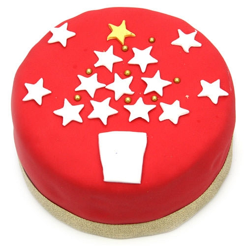 Christmas Star Cake Delivery UK