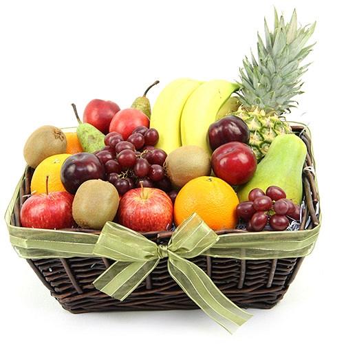 Fruit Goodness Basket Delivery to UK