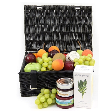 Savory Fruit & Cheese Basket Delivery UK