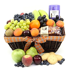 Baker Treat Fruit Basket