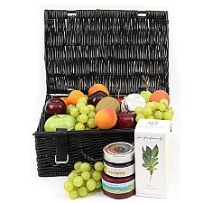 Savory Fruit and Cheese Basket