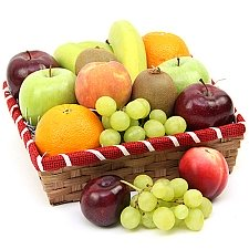 Nectarous Treats Fruit Basket Delivery to UK