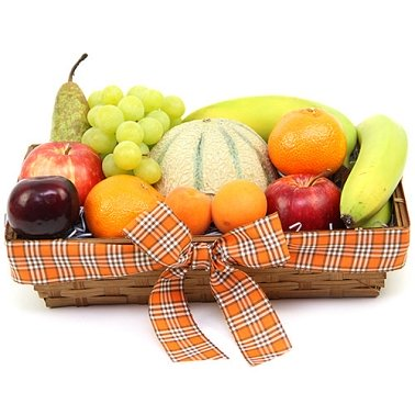 Orchard's Delight Fruit Basket Delivery to UK