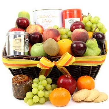 Highlands Fruit Basket Delivery UK