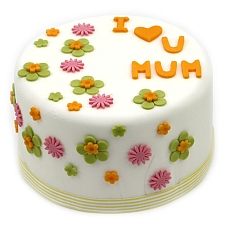 I Love Mum cake delivery UK
