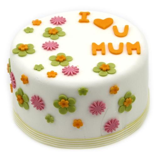 I Love Mum cake delivery UK