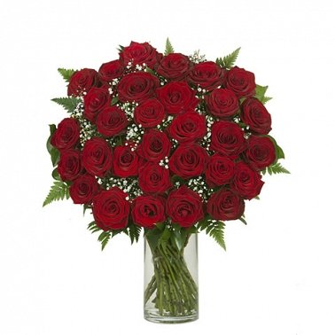 30 Red Rose Bouquet Delivery to UK