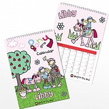 Bang on the Door Pony Girl Calendar Delivery to UK